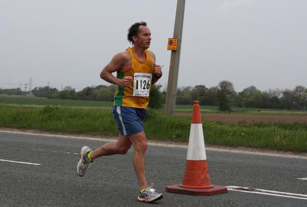 Paul Stuart leading the way at North Lincs HM