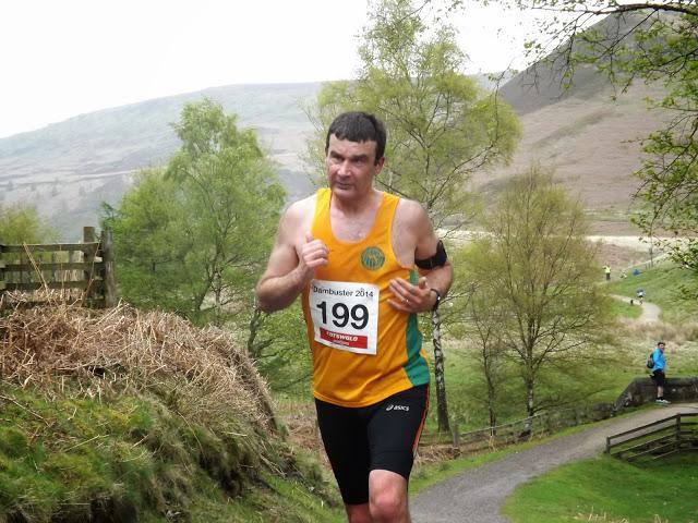 Adrian Moss racing round Derwent