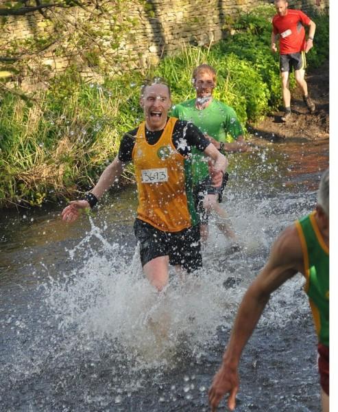 Mick Wall making a splash