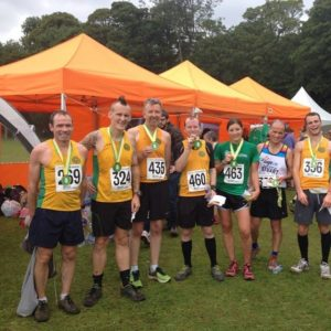 A great turnout of Steel City Striders at the first multi-stage Round Sheffield Run event.