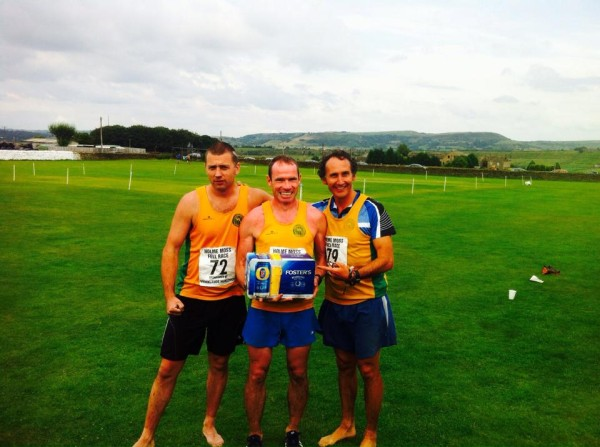 3rd place team of David Perkins, Andy Davies & Paul Stuart (missing was Andy Buck)