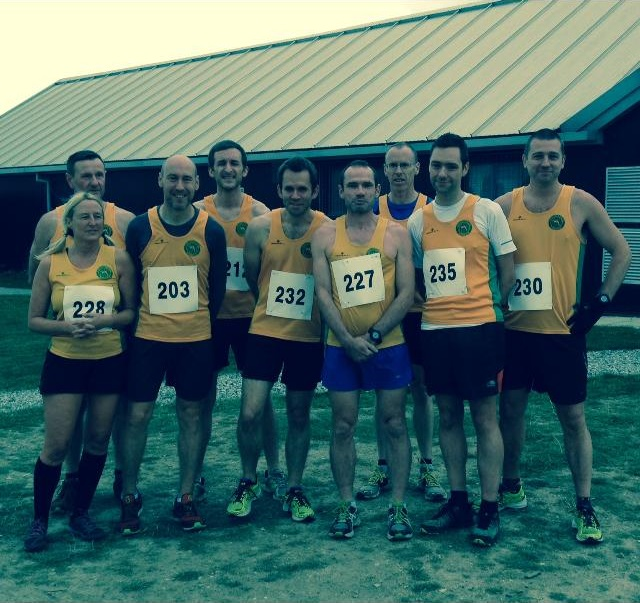 Striders at the Lakeside Dash