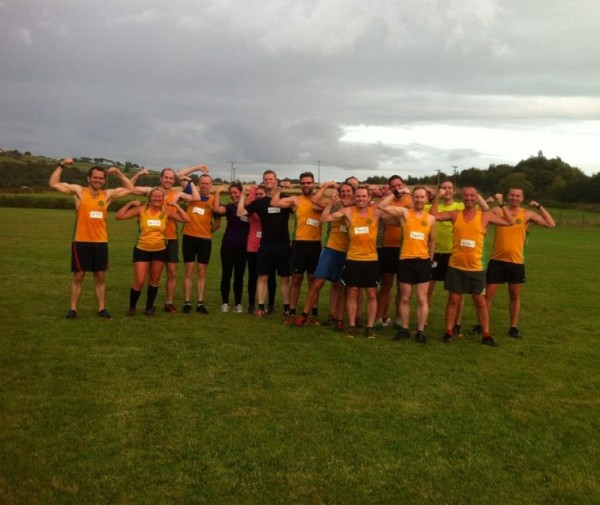 Striders on parade at Trunce 8