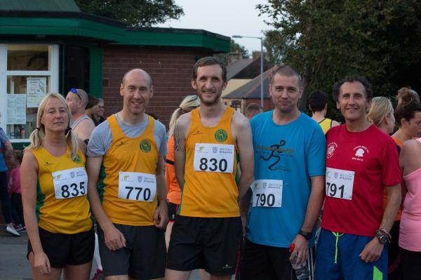 Dawn Jackson, Colin Hardy, Craig Shaw, David Perkins and Paul Stuart