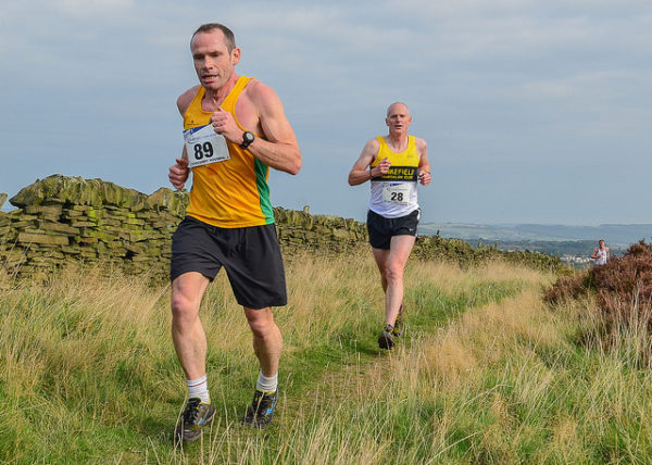 Andrew Davies, Pensitone Hill Race 2014