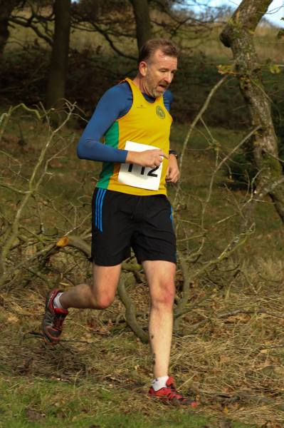 Richard Pegg in action at the Cop Hill Fell Race