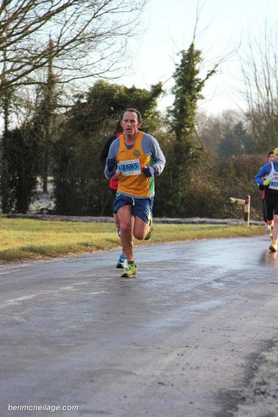 Paul running strong