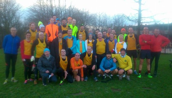 Striders at Castle Parkrun for Round 1, Bout 3