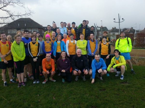 Striders at Castle Parkrun