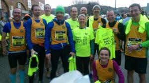 Striders at Dewsbury 10k