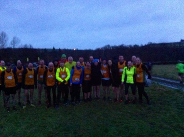 Striders at the finish line of Trunce 1