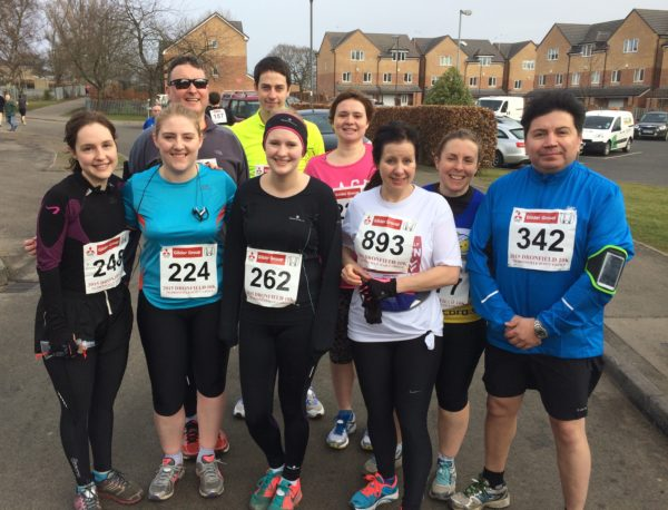 Striders Beginners at Dronfield 10k 2015