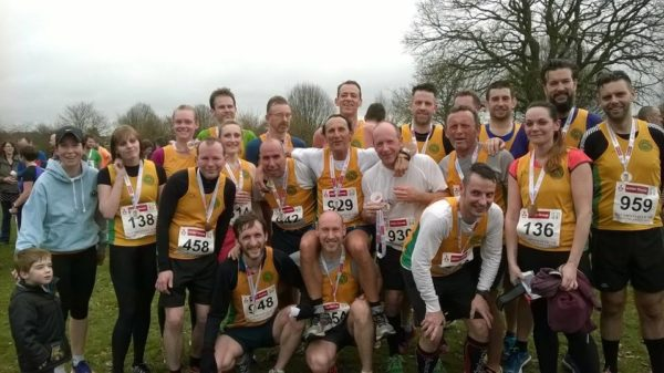 Striders at Dronfield 10k 2015