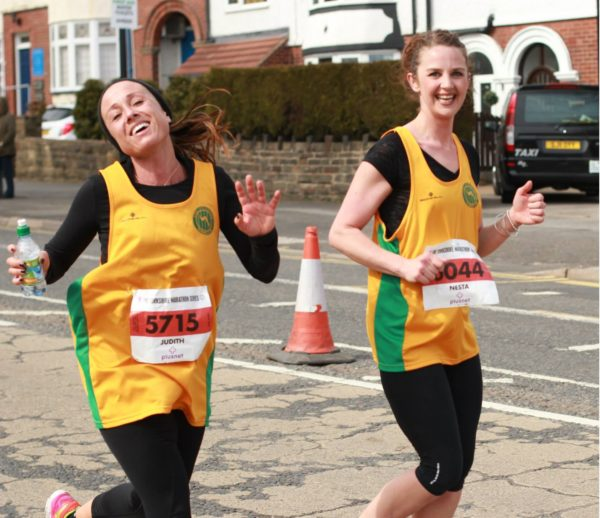 Judith Buck and Nesta Humphries enjoying a great Sheffield HM 2015