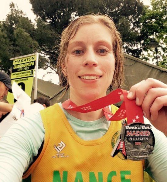 Nancy Stuart, Madrid Half Marathon 2015