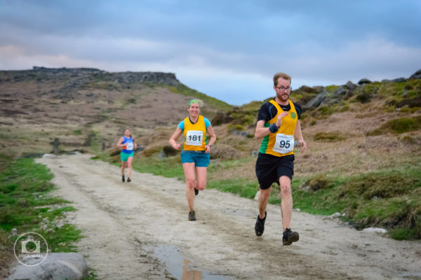 Helen Calder and Tony Horstead in a Battle Royale to the finish