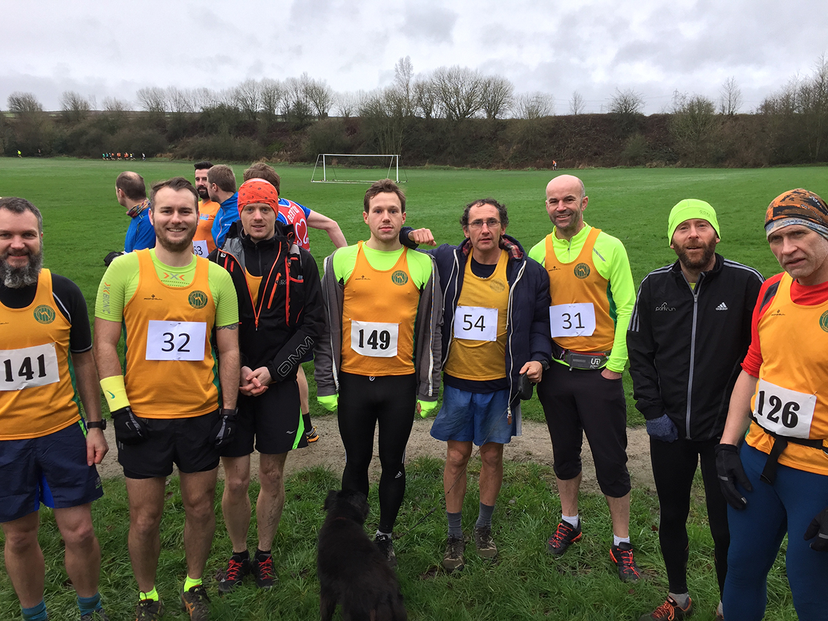 Striders at Amble's Revenge run in Oxspring