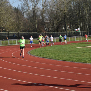 The Stanley Park 10k on a more sunny year