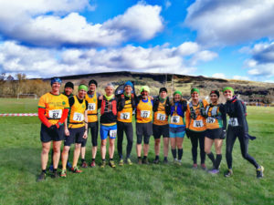 13 Striders tackled the Hope Fell Winter Race