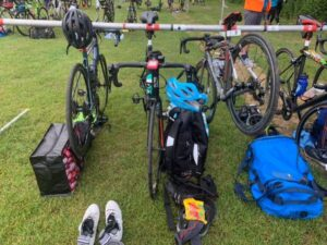 Bikes ready for transition
