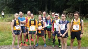 Striders at 9 Edges fell race