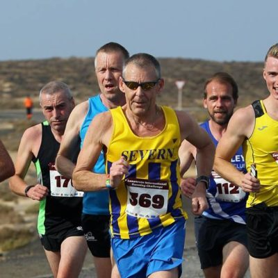 As soon as you put that number on it's a race:  International Running Challenge, Club La Santa, Lanzarote