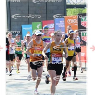 """""""For now, these hot days, is the mad blood stirring"""" London Marathon 2018 by Sian Evans"""