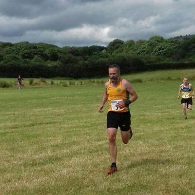 Bosley Village fell race