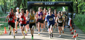 Manchester 5k 2018 race 1 start line photo