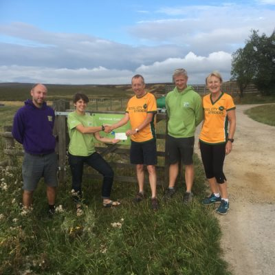 Striders donate to help save moors after fire