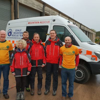 Salt Cellar Fell Race profits donated to Edale Mountain Rescue