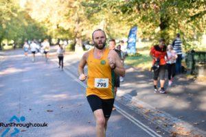 David Forrest at RunThrough Greenwich Park 2018